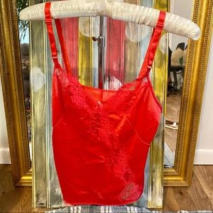 Vintage Small Red Cami Good Used Condition